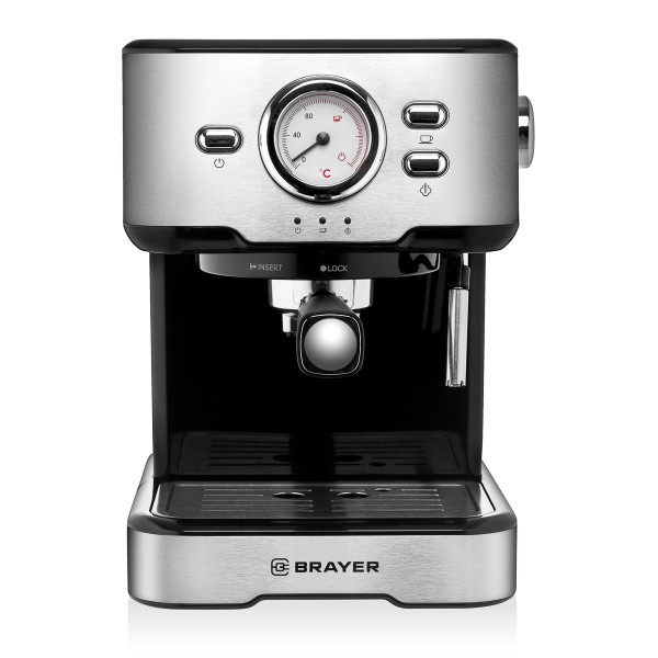 Кофеварка рожковая BRAYER BR1101